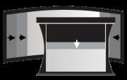 Bildwand - Rahmen, maskierbar