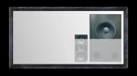 Bildwand - Rahmen, stationär