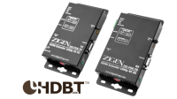 Signal Extender-Sets (Tx + Rx) Single Cat.X - HDMI / HDBaseT