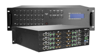 Signal Kreuzschienen / Matrix-Schalter HDMI / HDBaseT, Audio