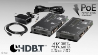 ZIGEN HAVEX ●HDMI/HDBaseT Set ●4K ●100m ●4-Port PoE Ethernet