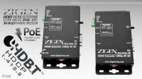 ZIGEN POE-70E ●HDMI/ HDBaseT Set ●4K ●70m ●IR/RS232 ●PoE