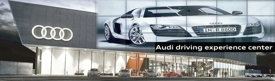 PLANAR Clarity Matrix Videowand - Audi City Berlin 3D Powerwall
